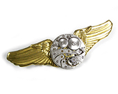 Steampunk Pins Hairpins and Brooches