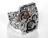 Hamilton Pinstripe Watch Mechanism Ring