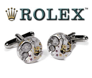Rolex Luxury Watch Cufflinks by EDMDesigns
