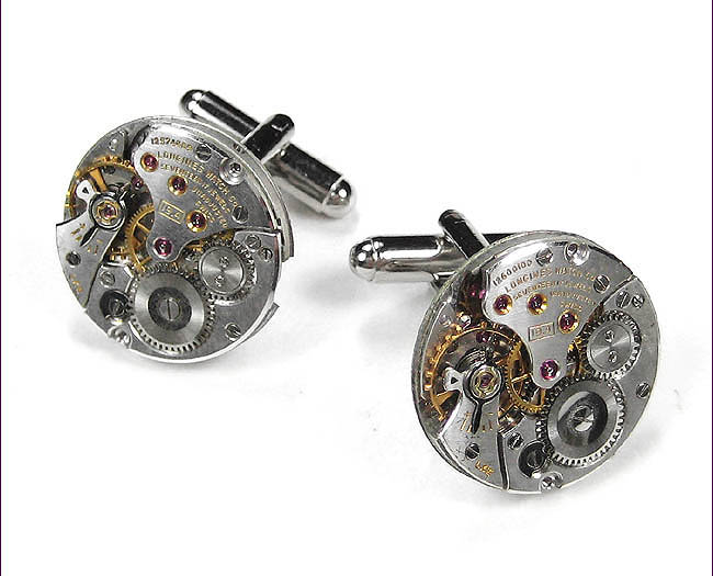Genuine Longines Steampunk Watch Cufflinks by EDM Designs