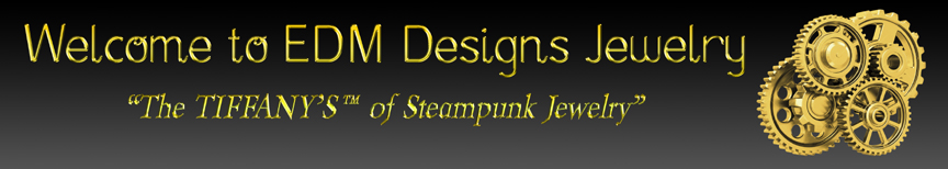 EDM Designs Tiffany of Steampunk Jewelry Logo